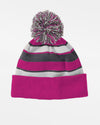 Holloway PomPom-Beanie, pink-weiss-grau-DIAMOND PRIDE
