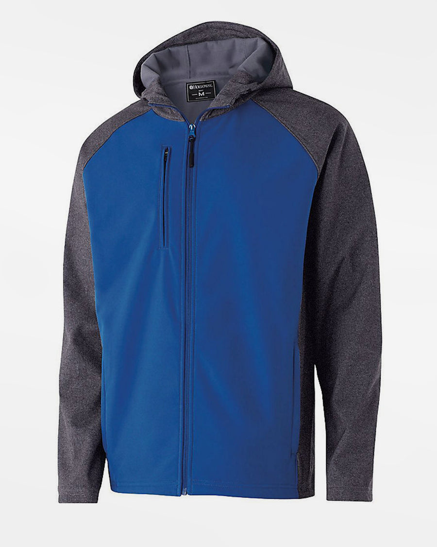 Holloway Raider Warmup Softshell Jacke, royal blau-grau-DIAMOND PRIDE