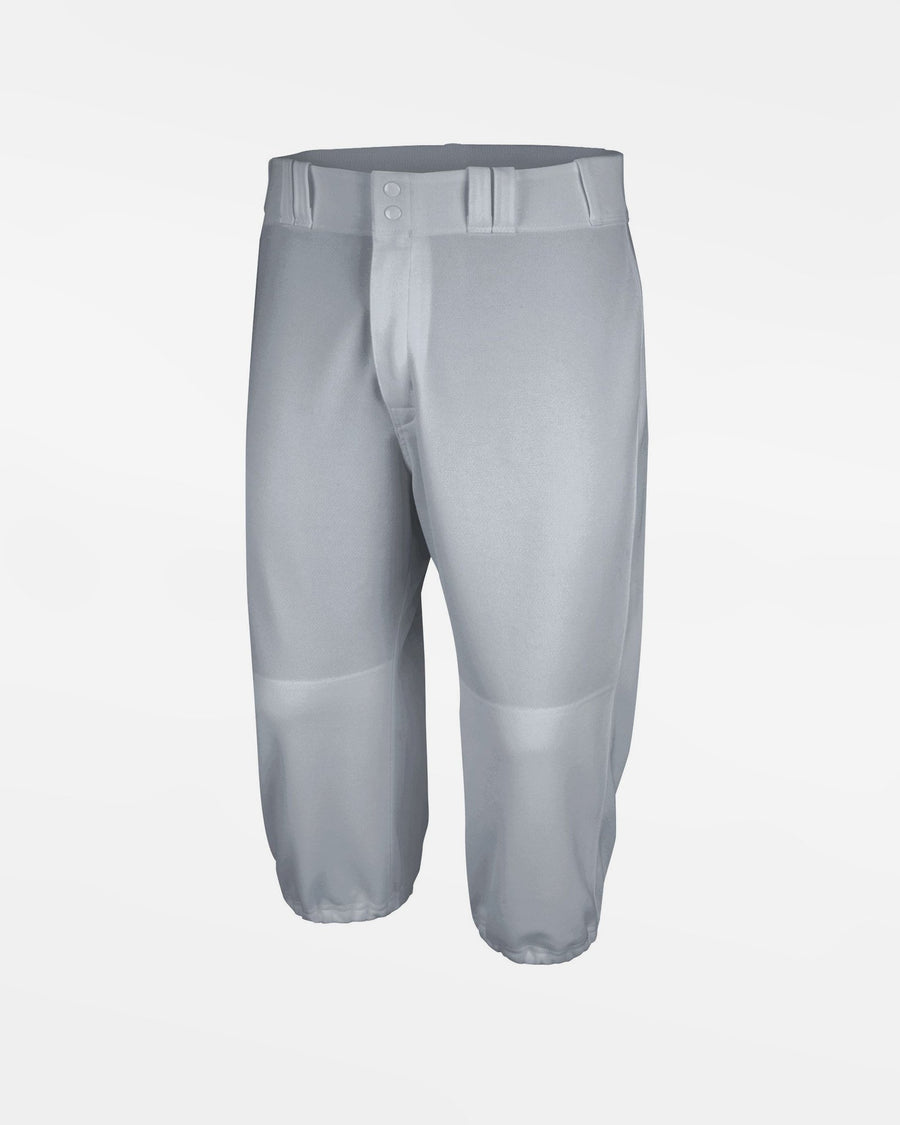 "Majestic Cool Base HD Throwback Baseball Pant ""Knickerbocker"", Grau - AUSLAUFARTIKEL -DIAMOND PRIDE"