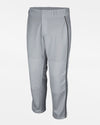 "Majestic Cool Base Premier Relaxed Fit Baseball Pant ""Open Bottom"", Grau/Schwarz - AUSLAUFARTIKEL -DIAMOND PRIDE"