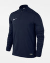 Nike 1/4-Zip Warmup Pullover, navy blau-DIAMOND PRIDE