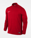 Nike 1/4-Zip Warmup Pullover, rot-DIAMOND PRIDE