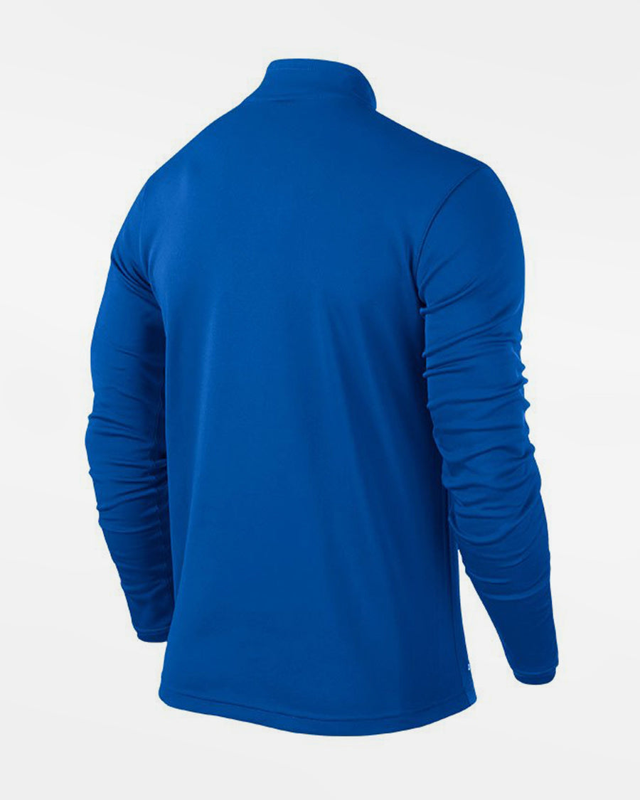 Nike 1/4-Zip Warmup Pullover, royal blau-DIAMOND PRIDE