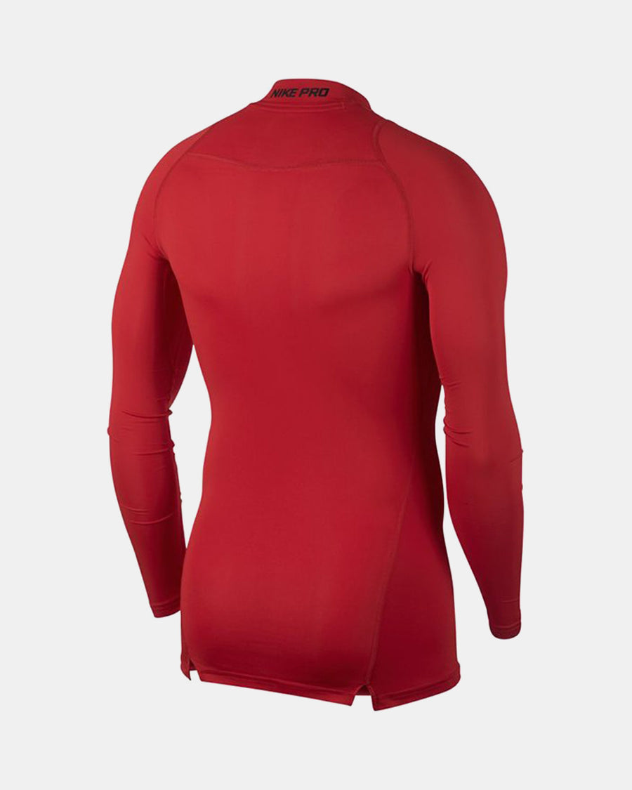 Nike Pro Compression Longsleeve Shirt, rot-DIAMOND PRIDE