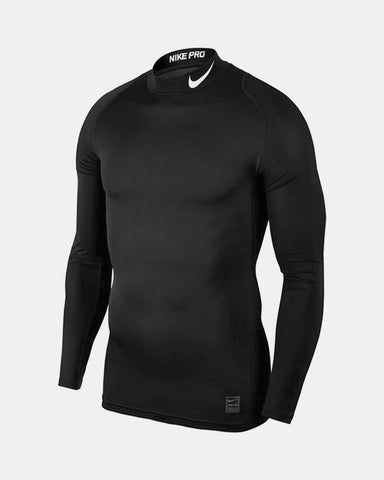Nike Pro Compression Longsleeve Shirt, schwarz-DIAMOND PRIDE