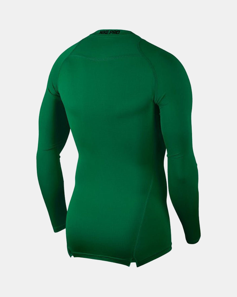 Nike Pro Compression Longsleeve Shirt 2018, kelly grün-DIAMOND PRIDE