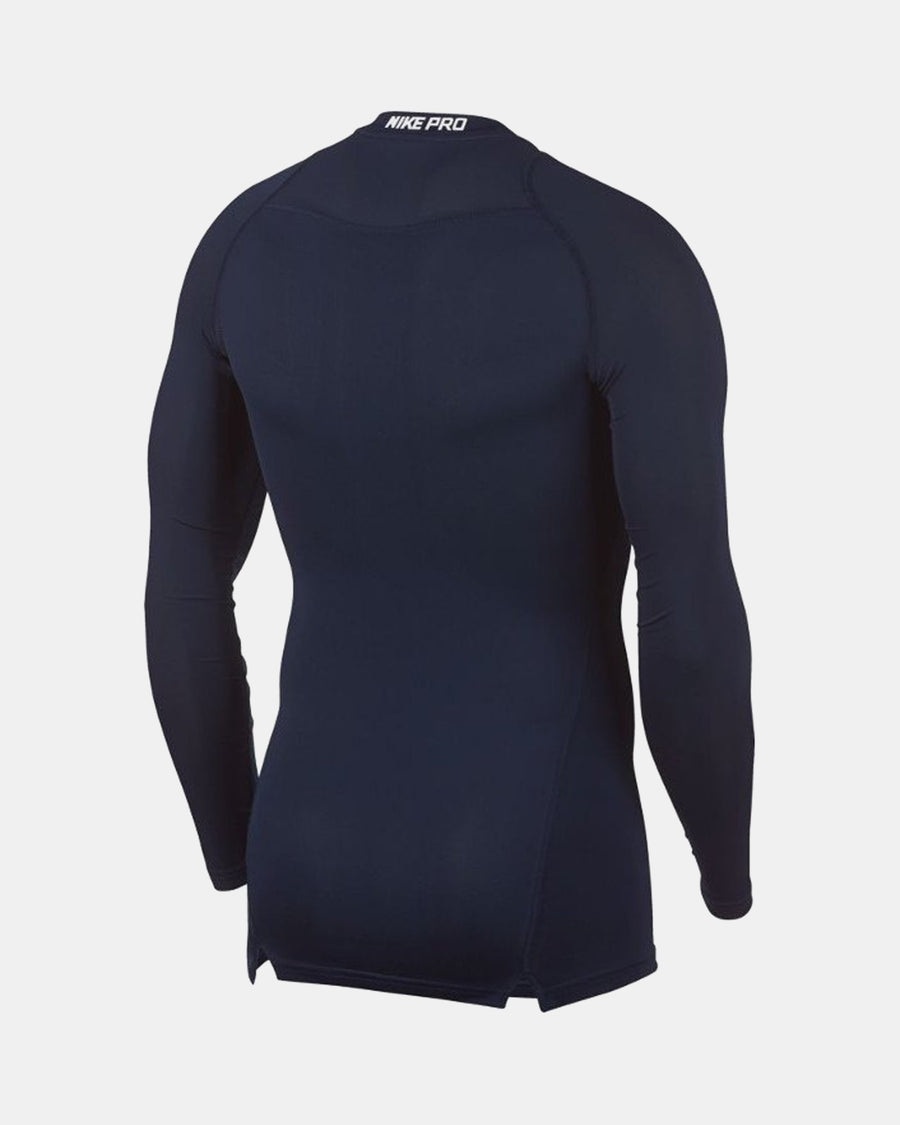 Nike Pro Compression Longsleeve Shirt 2018, navy blau-DIAMOND PRIDE
