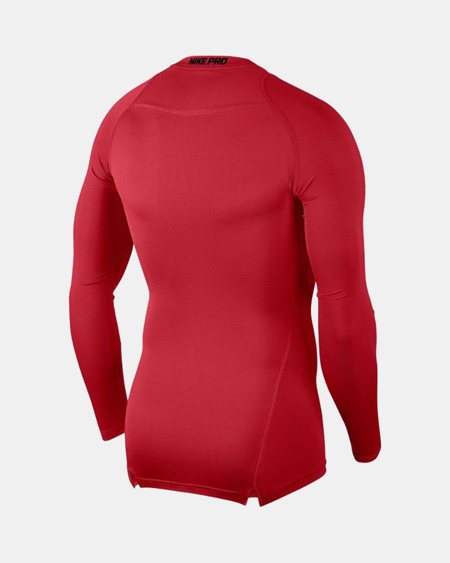 Nike Pro Compression Longsleeve Shirt 2018, rot-DIAMOND PRIDE