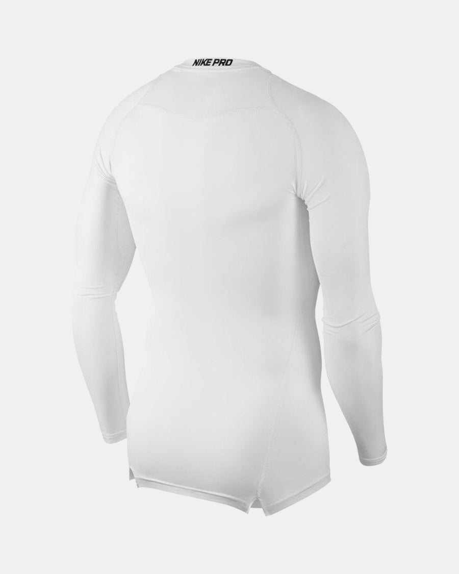 Nike Pro Compression Longsleeve Shirt, weiss-DIAMOND PRIDE