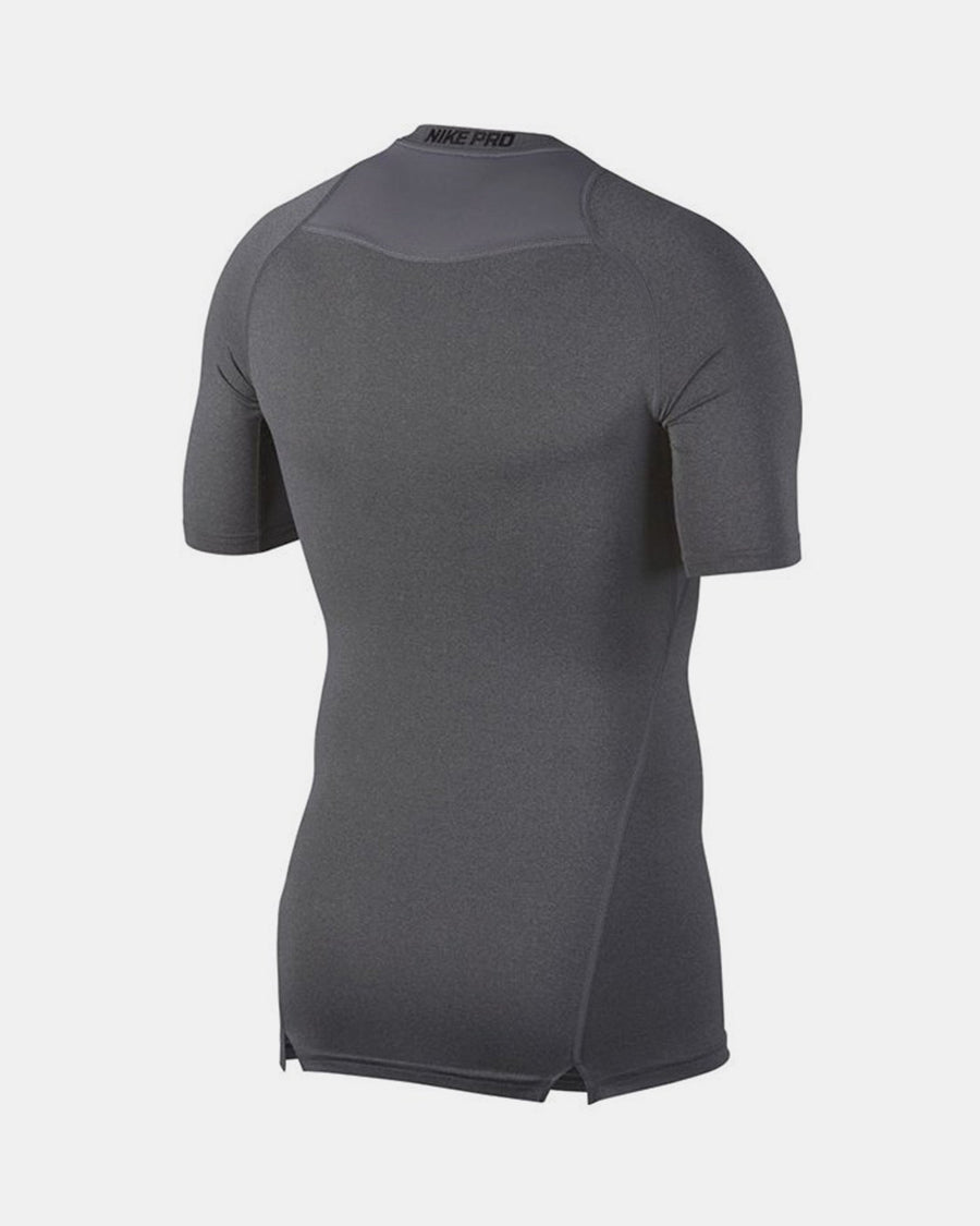 Nike Pro Compression Shortsleeve Shirt 2018, dunkelgrau-DIAMOND PRIDE