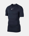 Nike Pro Compression Shortsleeve Shirt 2018, navy blau-DIAMOND PRIDE