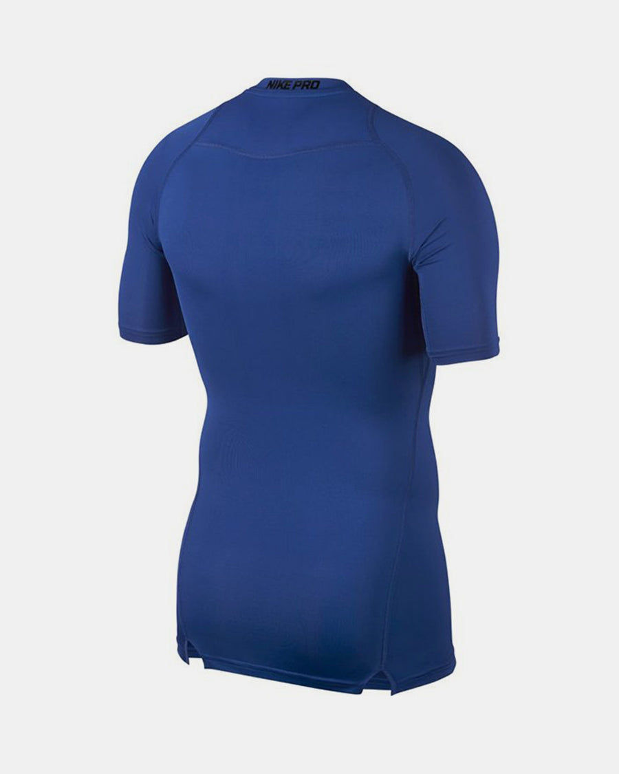 Nike Pro Compression Shortsleeve Shirt 2018, royal blau-DIAMOND PRIDE