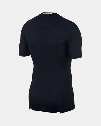 Nike Pro Compression Shortsleeve Shirt 2018, schwarz-DIAMOND PRIDE