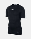 Nike Pro Compression Shortsleeve Shirt, schwarz-DIAMOND PRIDE