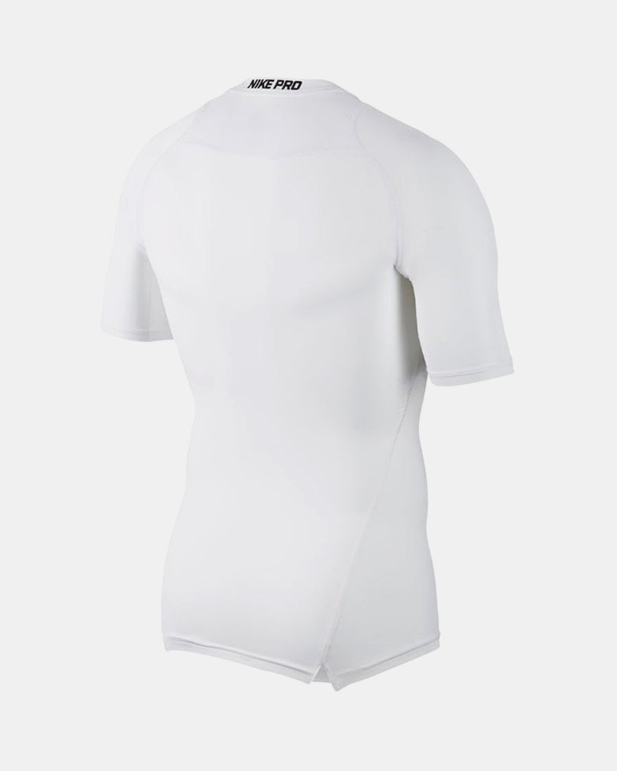 Nike Pro Compression Shortsleeve Shirt, weiss-DIAMOND PRIDE