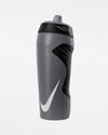 Nike Trinkflasche Hyperfuel Water Bottle 18oz, dunkelgrau-DIAMOND PRIDE