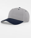 Richardson Basic Snapback, grau - navy blau-DIAMOND PRIDE