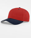 Richardson Basic Snapback, rot - navy blau-DIAMOND PRIDE