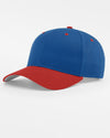 Richardson Basic Snapback, royal blau - rot-DIAMOND PRIDE
