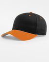 Richardson Basic Snapback, schwarz - orange-DIAMOND PRIDE