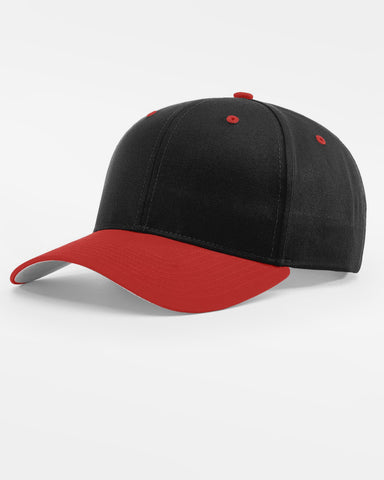 Richardson Basic Snapback, schwarz - rot-DIAMOND PRIDE