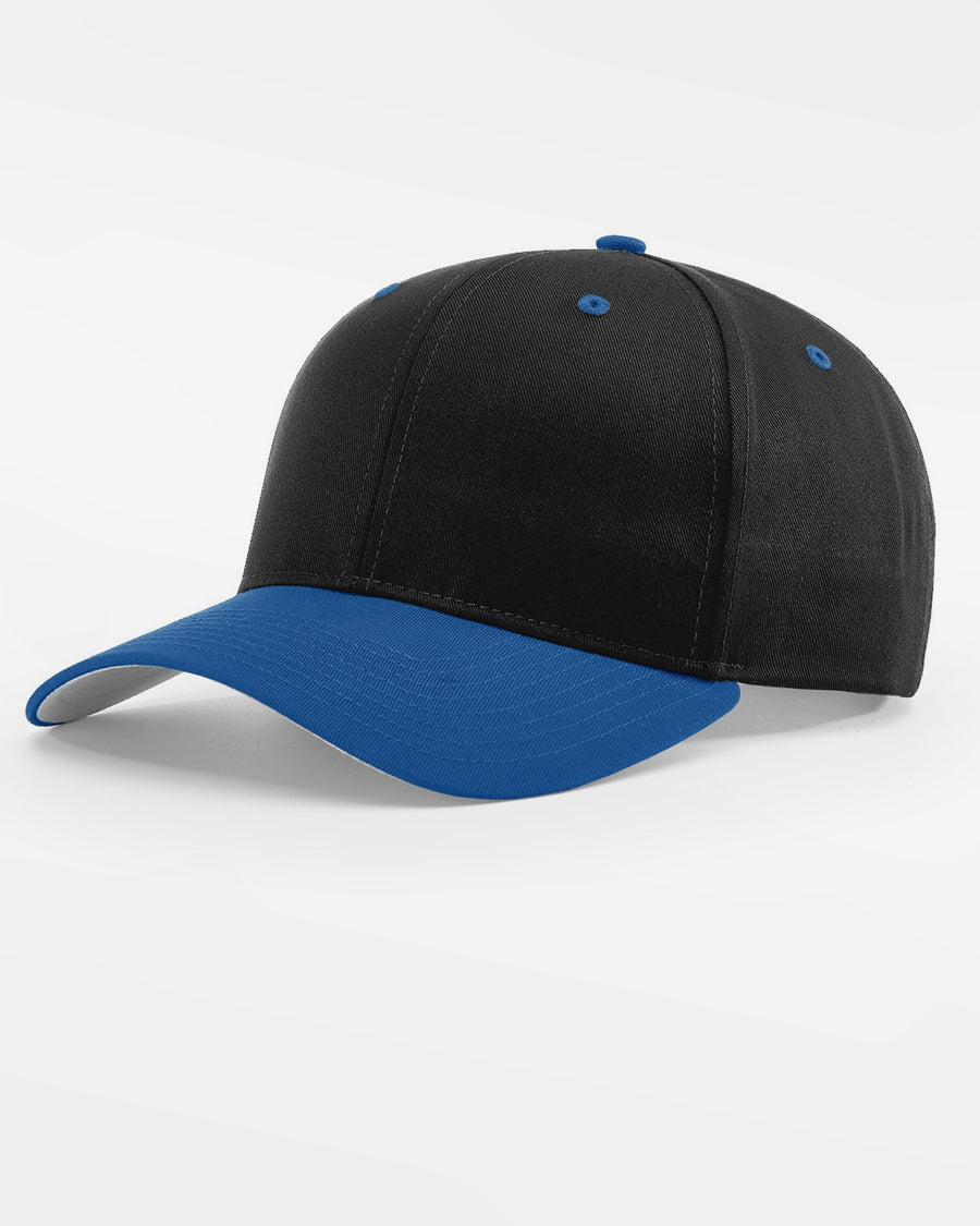 Richardson Basic Snapback, schwarz - royal blau-DIAMOND PRIDE