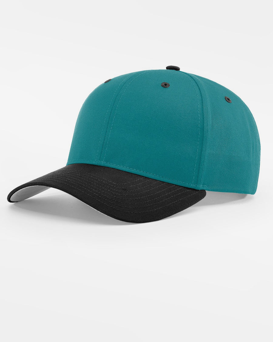 Richardson Basic Snapback, teal blau - schwarz-DIAMOND PRIDE
