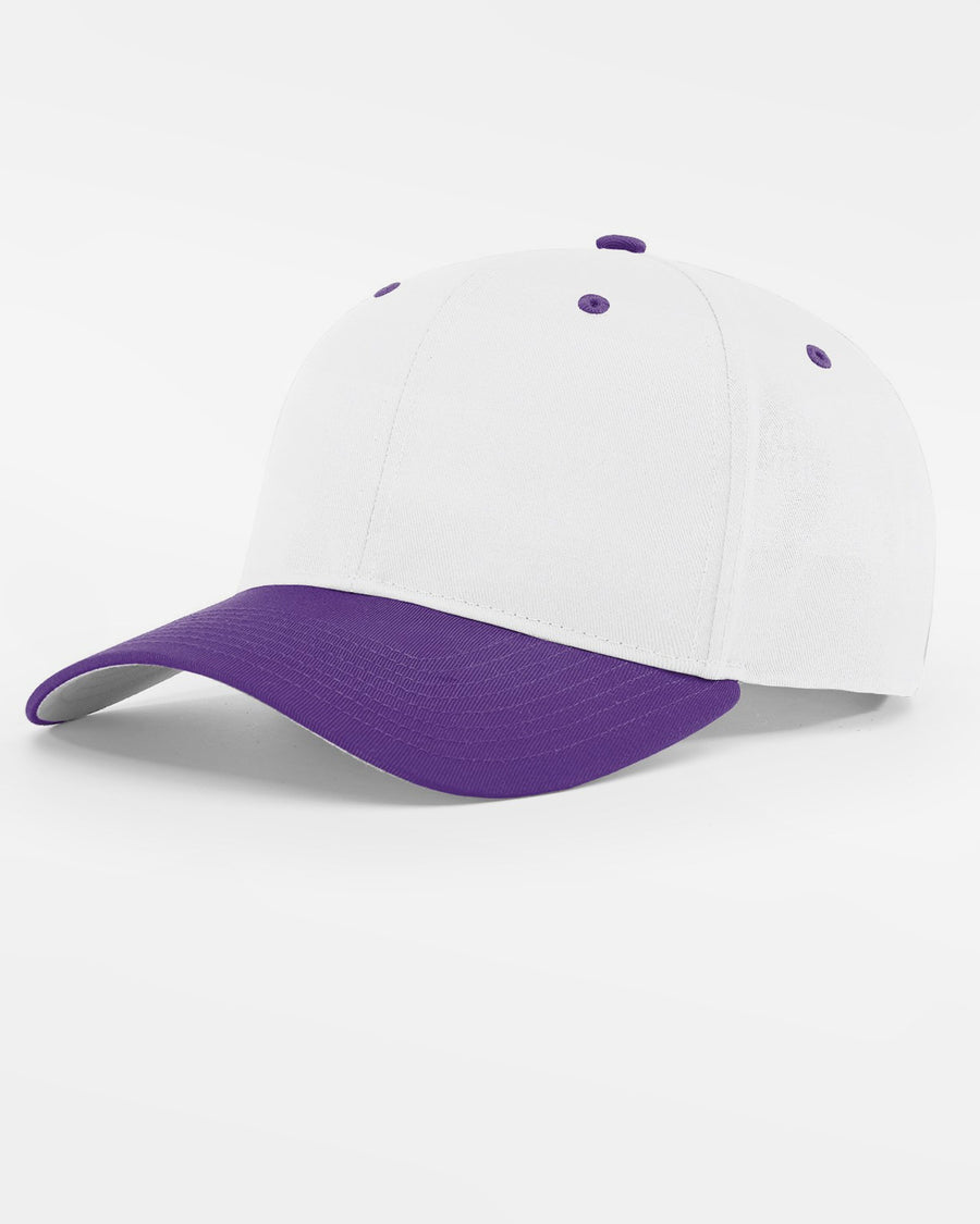 Richardson Basic Snapback, weiss - purple-DIAMOND PRIDE
