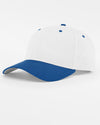 Richardson Basic Snapback, weiss - royal blau-DIAMOND PRIDE