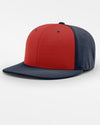 Richardson PTS20 Flexfit Alternate Cap, navy blau - rot-DIAMOND PRIDE