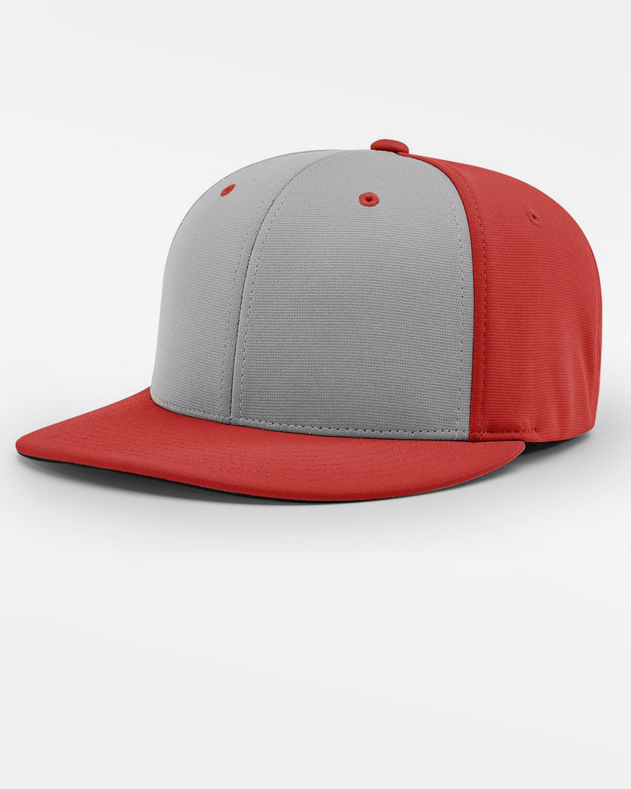 Richardson PTS20 Flexfit Alternate Cap, rot - grau-DIAMOND PRIDE