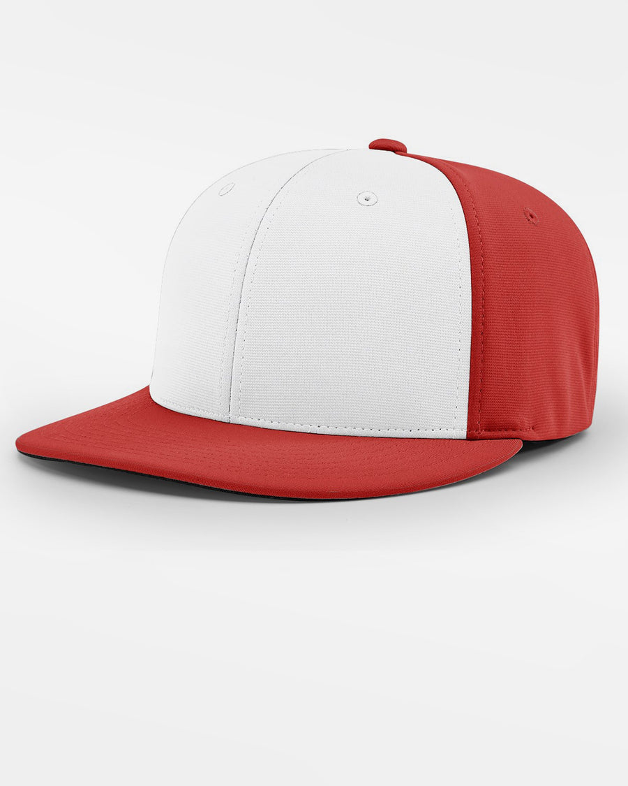 Richardson PTS20 Flexfit Alternate Cap, rot - weiss-DIAMOND PRIDE