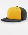 Richardson PTS20 Flexfit Alternate Cap, schwarz - gelb-DIAMOND PRIDE