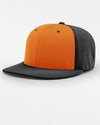 Richardson PTS20 Flexfit Alternate Cap, schwarz - orange-DIAMOND PRIDE