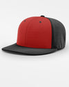 Richardson PTS20 Flexfit Alternate Cap, schwarz - rot-DIAMOND PRIDE