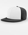 Richardson PTS20 Flexfit Alternate Cap, schwarz - weiss-DIAMOND PRIDE