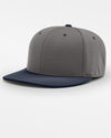 Richardson PTS20 Flexfit Cap, dunkelgrau - navy blau-DIAMOND PRIDE