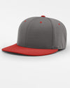 Richardson PTS20 Flexfit Cap, dunkelgrau - rot-DIAMOND PRIDE