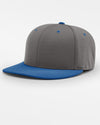 Richardson PTS20 Flexfit Cap, dunkelgrau - royal blau-DIAMOND PRIDE