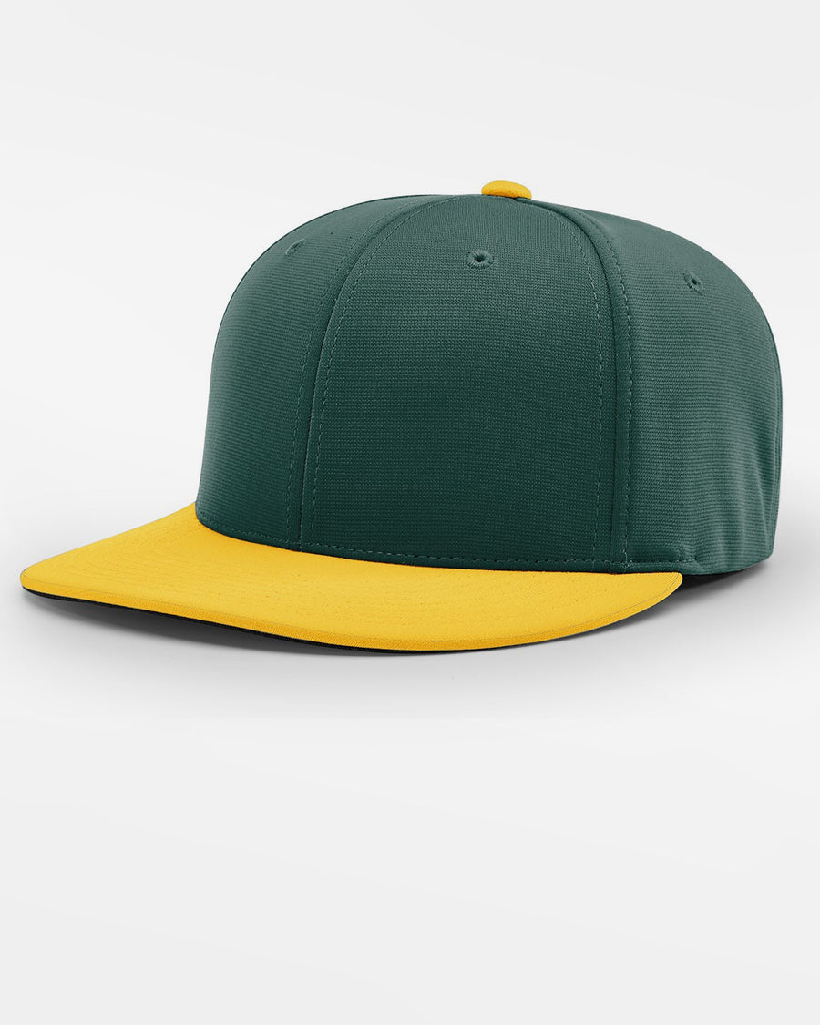 Richardson PTS20 Flexfit Cap, dunkelgrün-gelb-DIAMOND PRIDE