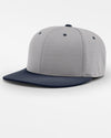 Richardson PTS20 Flexfit Cap, grau - navy blau-DIAMOND PRIDE