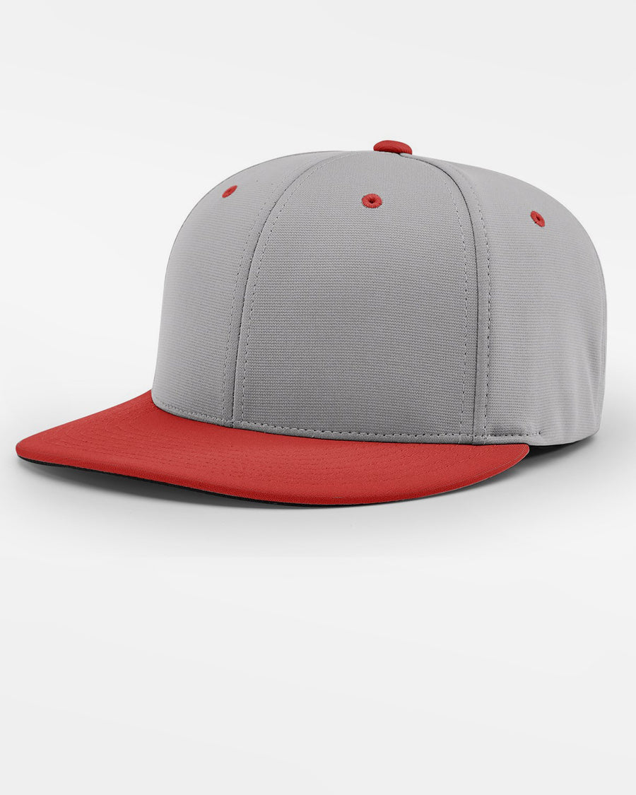Richardson PTS20 Flexfit Cap, grau - rot-DIAMOND PRIDE