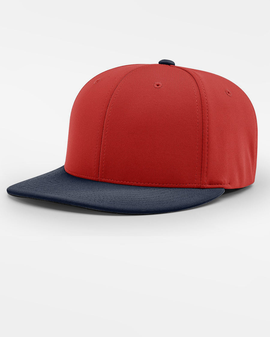 Richardson PTS20 Flexfit Cap, rot - navy blau-DIAMOND PRIDE