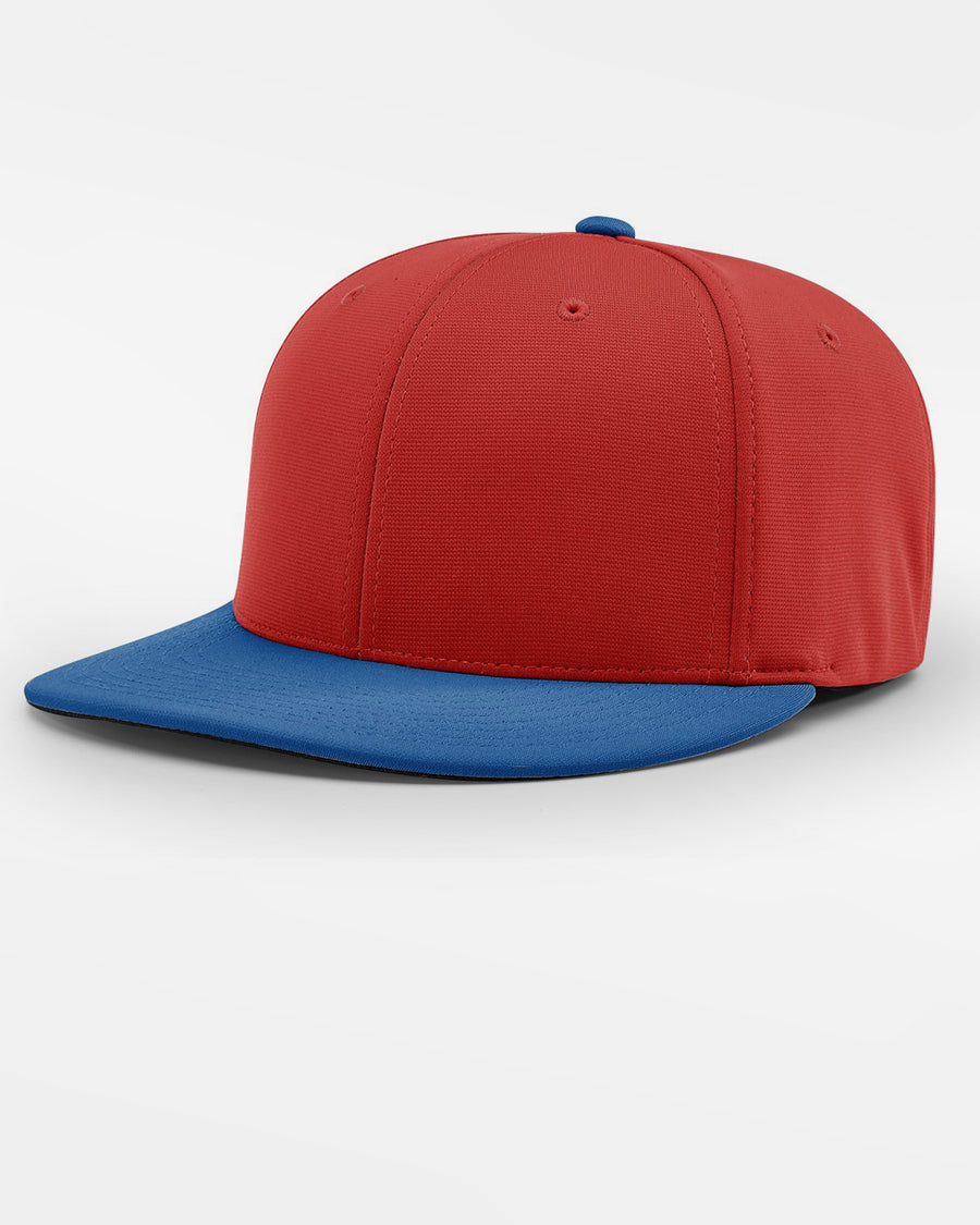 Richardson PTS20 Flexfit Cap, rot - royal blau-DIAMOND PRIDE