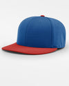Richardson PTS20 Flexfit Cap, royal blau - rot-DIAMOND PRIDE