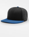 Richardson PTS20 Flexfit Cap, schwarz - royal blau-DIAMOND PRIDE