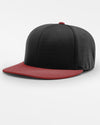 Richardson PTS20 Flexfit Cap, schwarz - weinrot-DIAMOND PRIDE