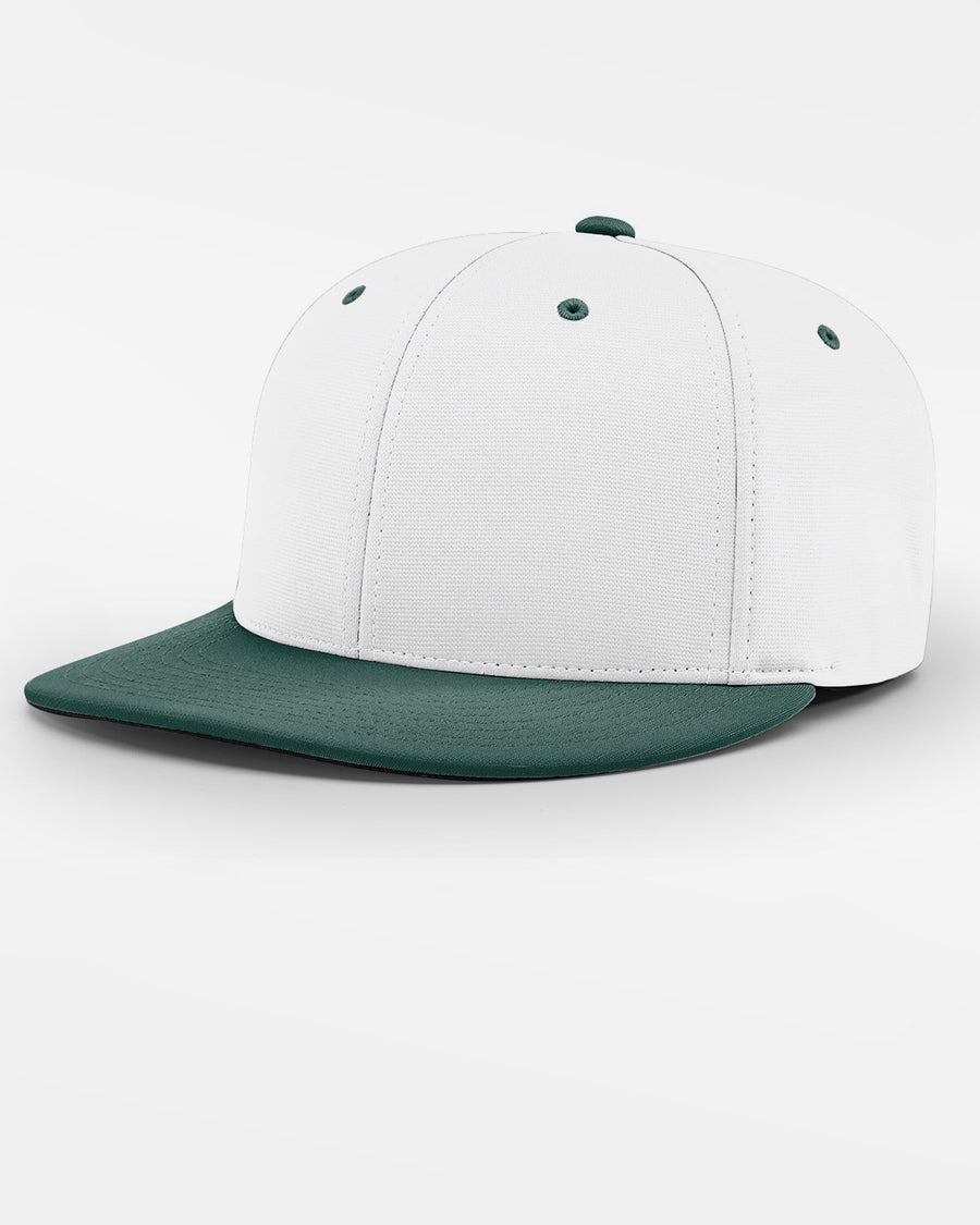 Richardson PTS20 Flexfit Cap, weiss - dunkelgrün-DIAMOND PRIDE