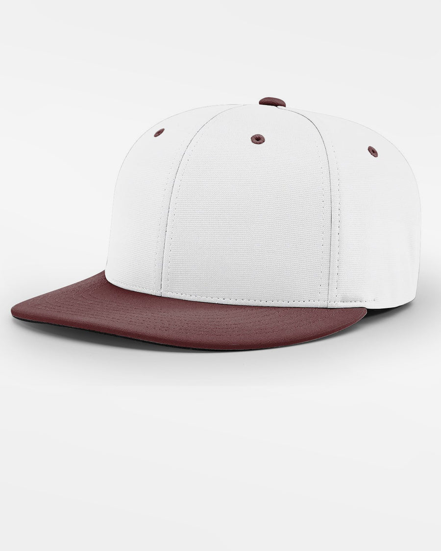 Richardson PTS20 Flexfit Cap, weiss - maroon-DIAMOND PRIDE