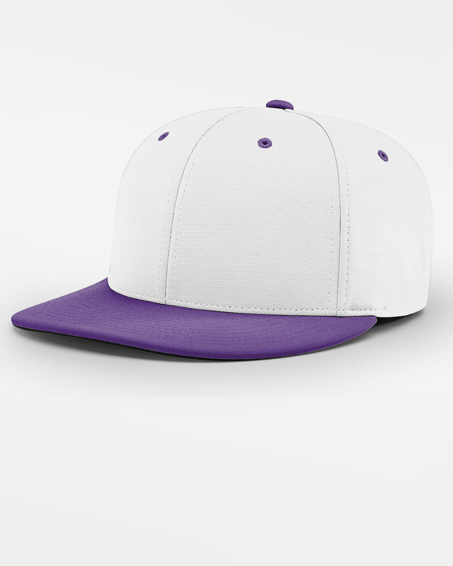 Richardson PTS20 Flexfit Cap, weiss - purple-DIAMOND PRIDE